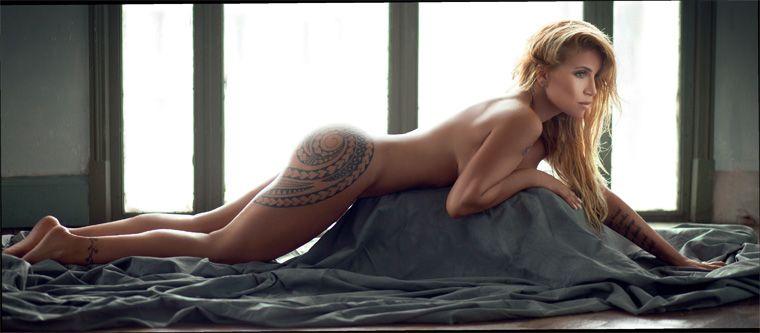 Florencia Peña posó desnuda para la revista Gente. Foto: Christian Beliera