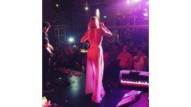 Coki Ramírez, provocativa en sus shows