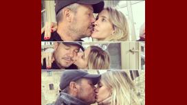 Guillermina Valdés y Marcelo Tinelli, enamorados en Roma