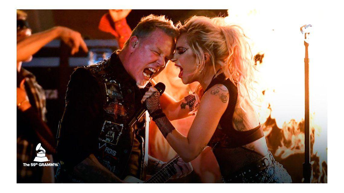 Metallica y Lady Gaga