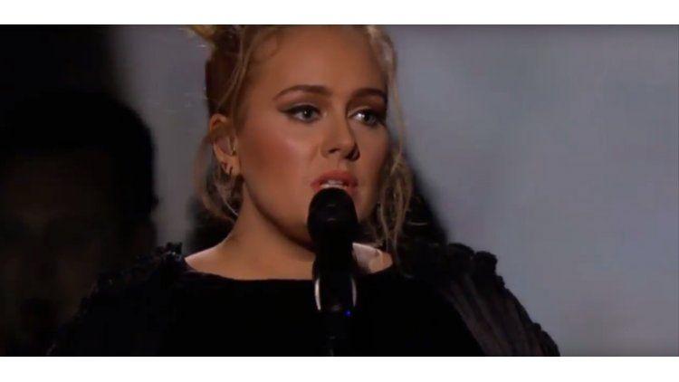 Adele homenajeó a George Michael