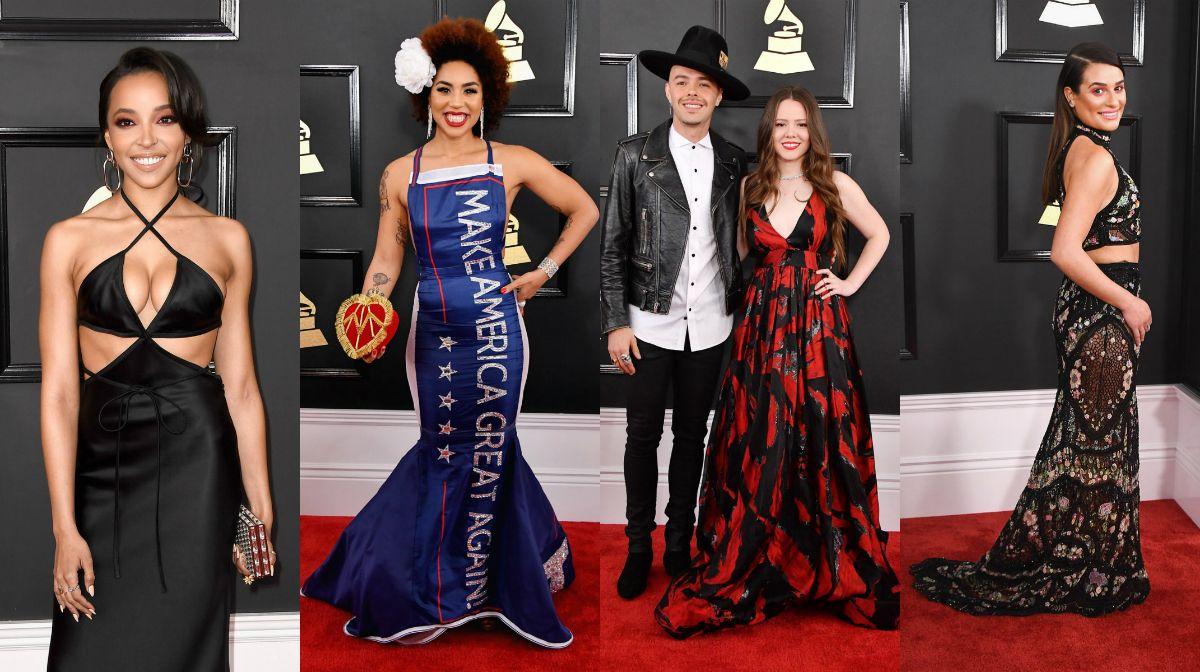 Premios Grammy 2017: looks de la alfombra roja