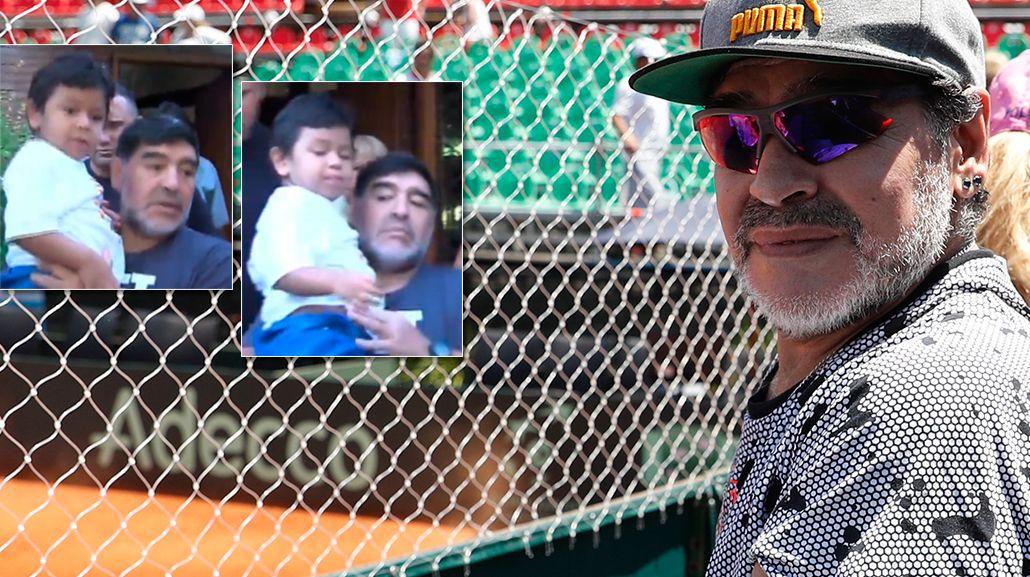 Diego Maradona habló de Dieguito Fernando