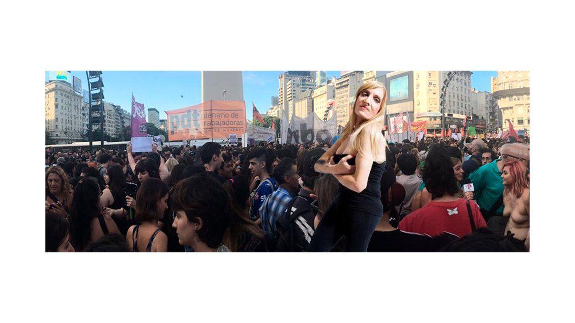 Zulma Lobato se sumó al Tetazo