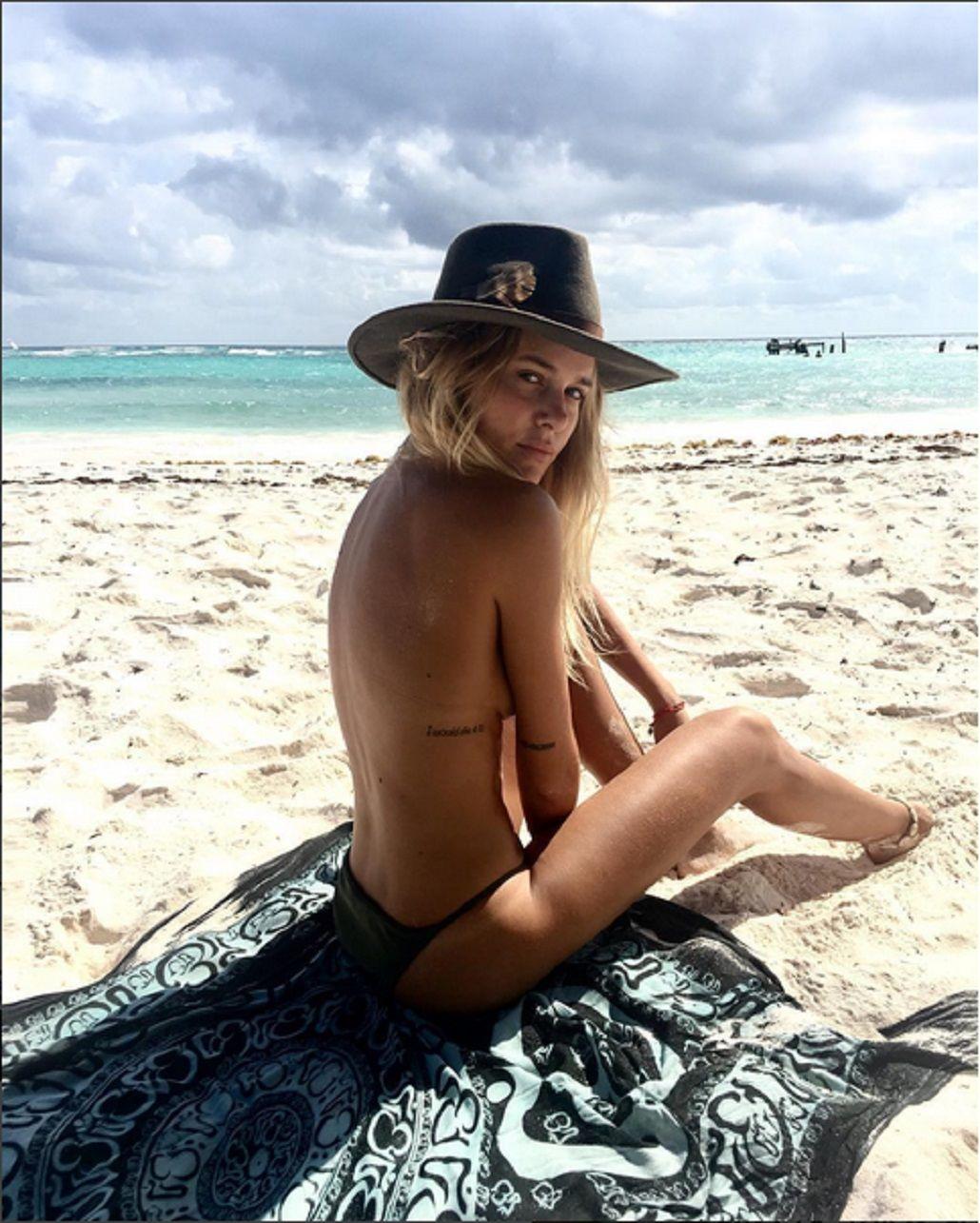 Jenny Williams y un sensual topless en México