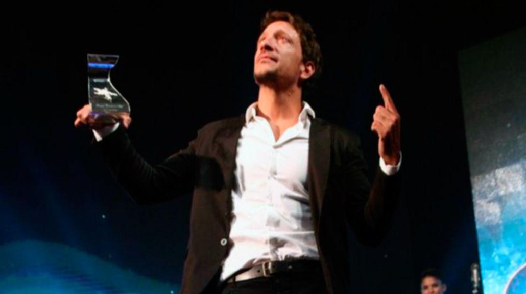 Nico Vázquez dio un emotivo discurso tras ganar el Estrella de Mar