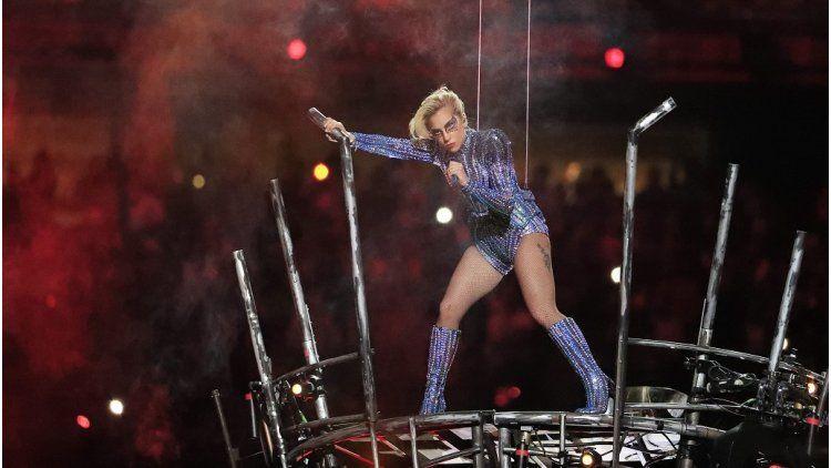 El espectáculo de Lady Gaga en el Superbowl