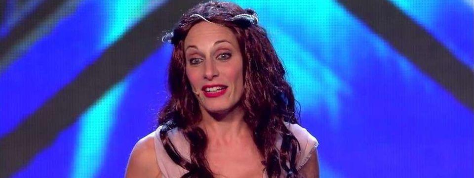 Solange Freyre la rompe en Got Talent España