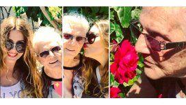 El dolor de Mónica Ayos por la muerte de su abuela