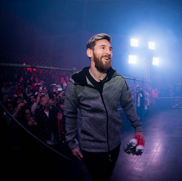 Lionel Messi fue el hazme reir de las redes