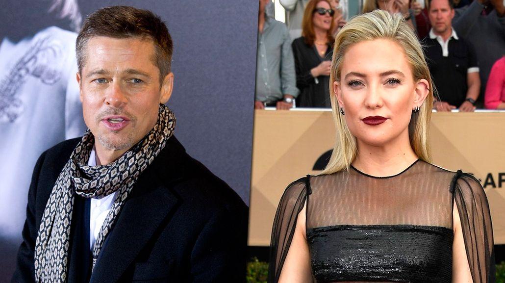 Brad Pitt y Kate Hudson