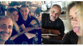 La primera foto de Jorge Rial con Morena y su novio
