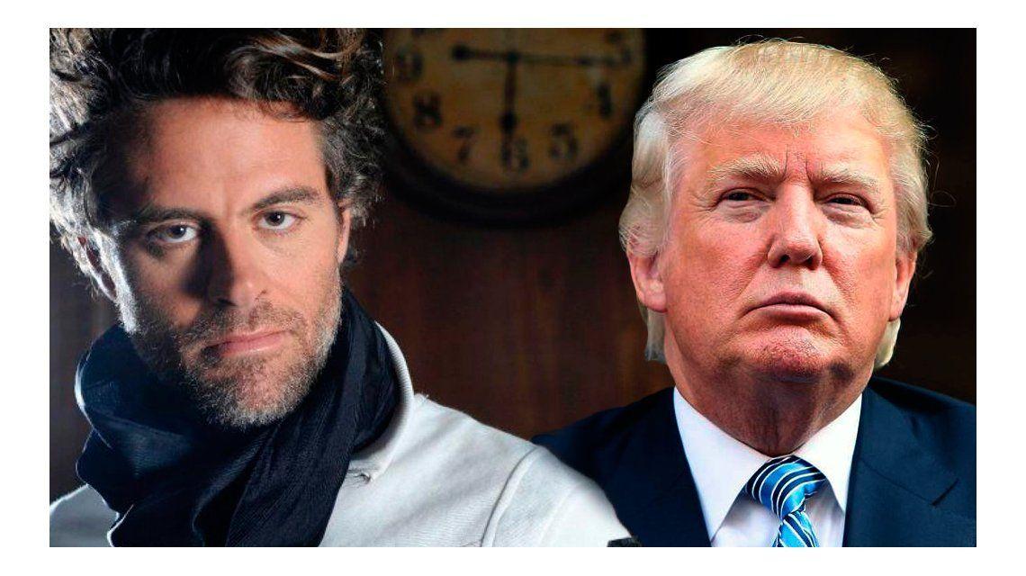 El insulto de Mike Amigorena a Donald Trump