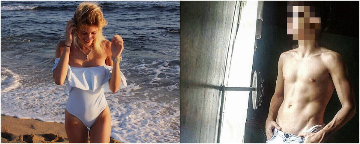 Ruggeri y Noya comparteron sus fotos en las redes