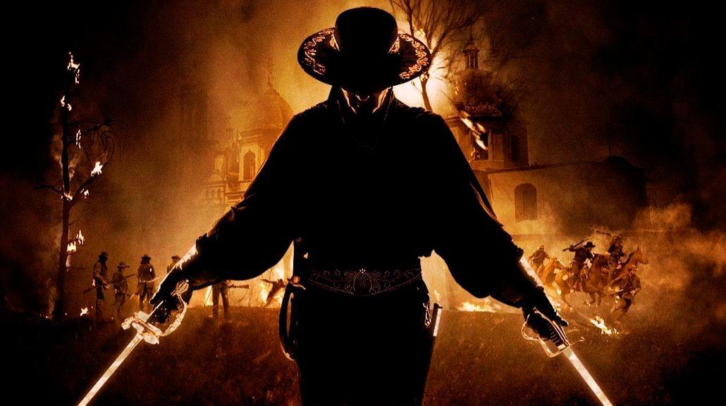 Antonio Banderas fue El Zorro en 1998