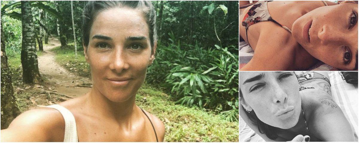 Juana Viale disfruta en Brasil
