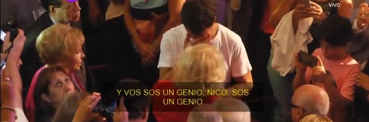 El emocionante relato de Mirtha Legrand que hizo llorar a Nico Vázquez