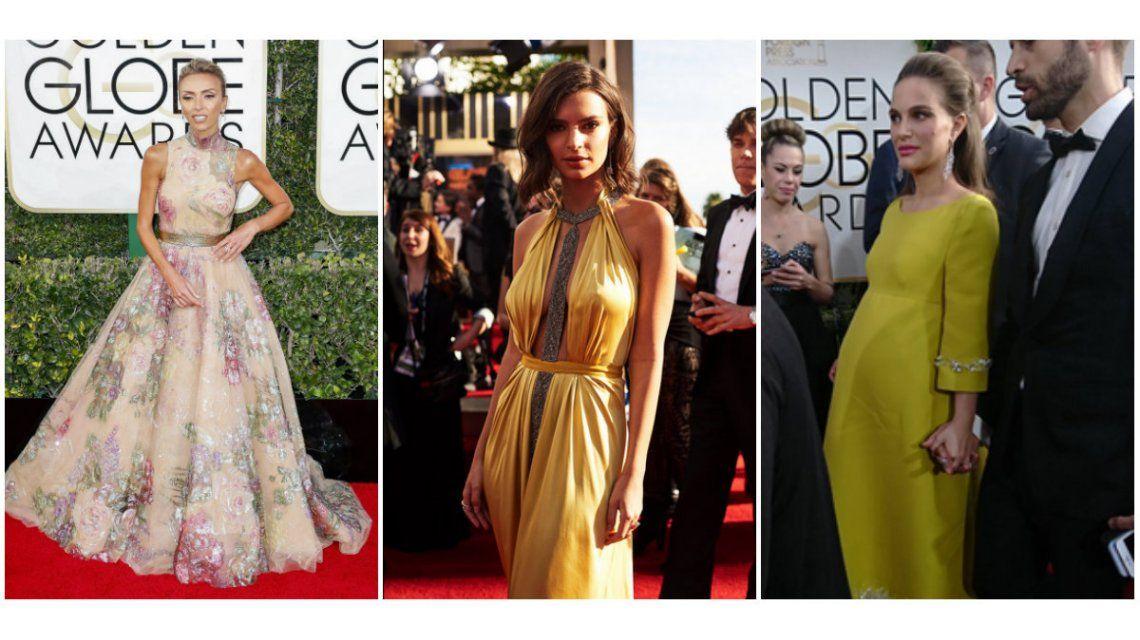 Los looks de los famosos en la alfombra roja de los Globos de Oro