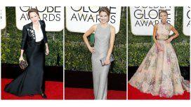 Los looks de las celebrities en los Globos de Oro