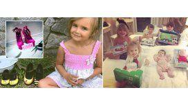 La hija de Melina Pitra y los hijos de Wanda, felices