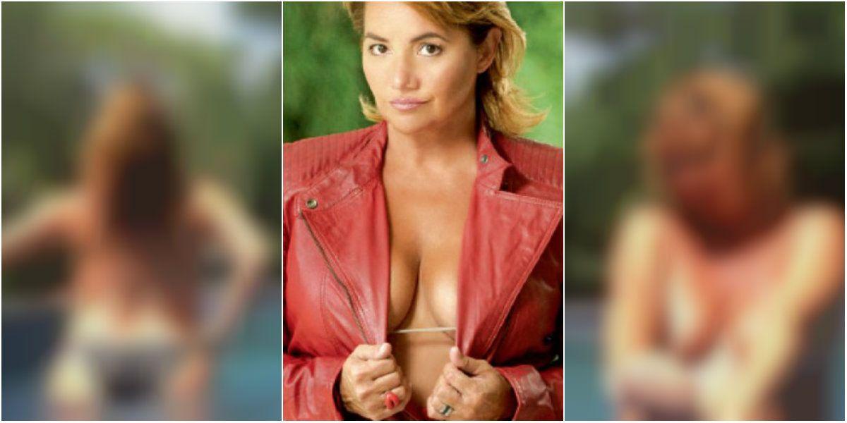 Nancy Pazos habló de sus fotos íntimas