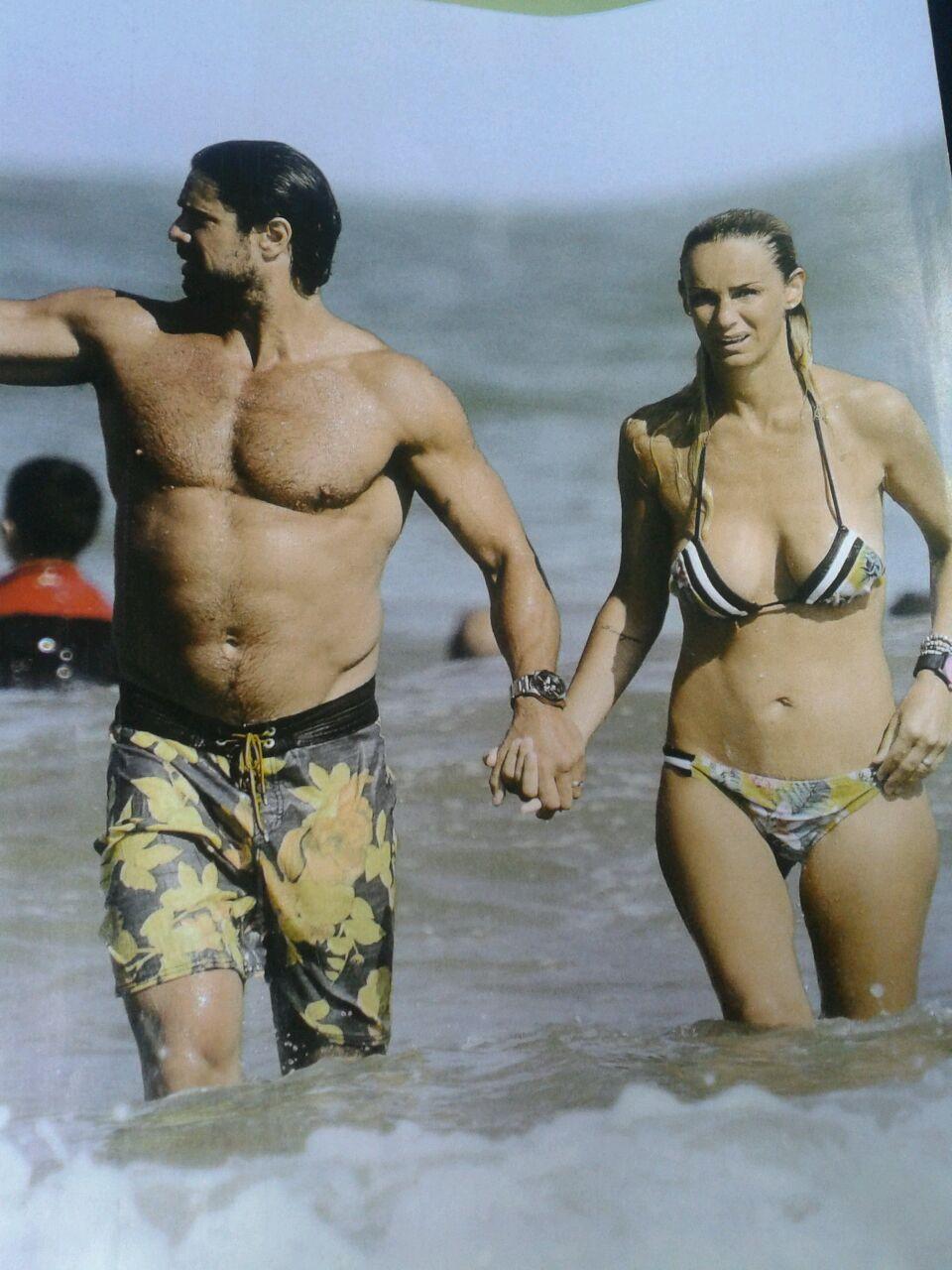 Las vacaciones de Luciano Castro y Sabrina Rojas