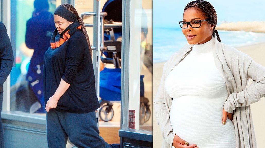 Janet Jackson fue mamá de un varón