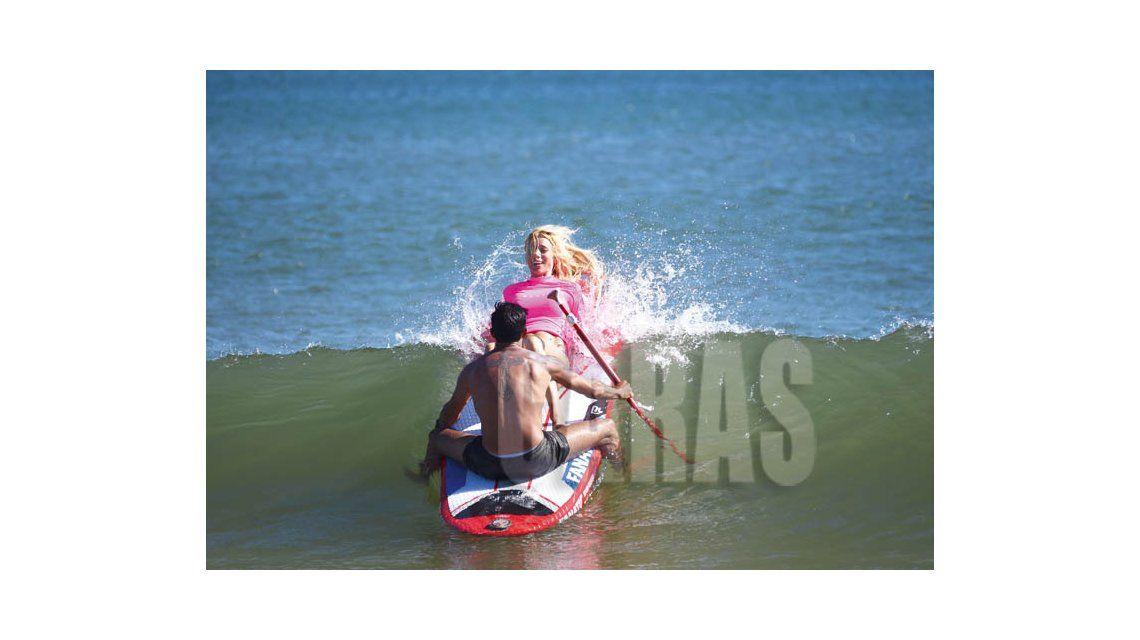 Las vacaciones de Nicole y Cubero