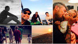 Las vacaciones de Marcelo Tinelli