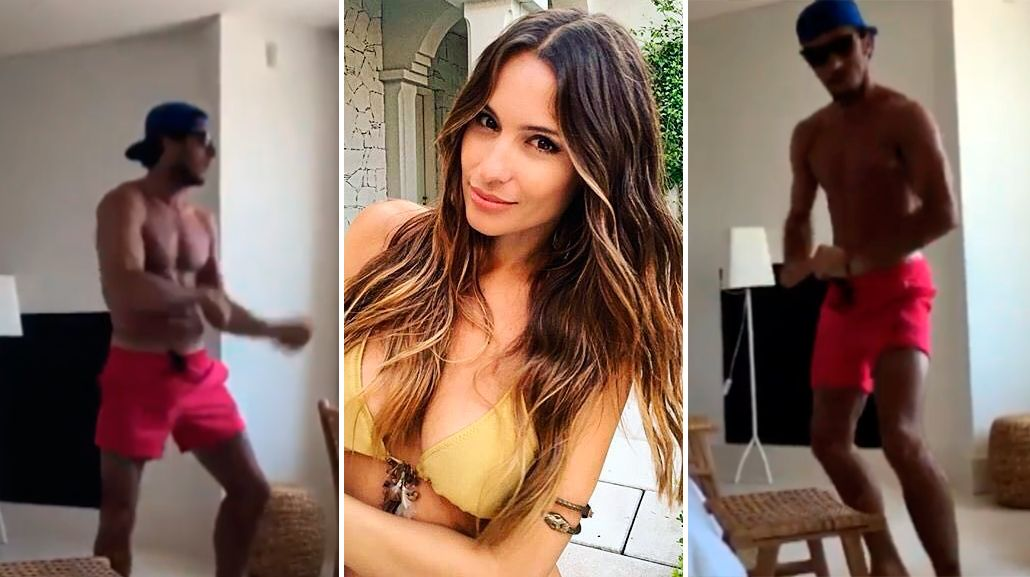 Pampita compartió el video en Instagram