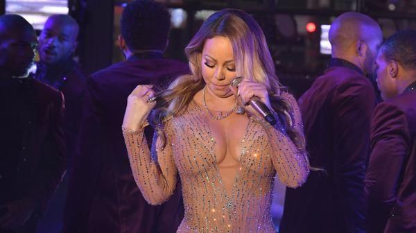Mariah Carey en Times Square