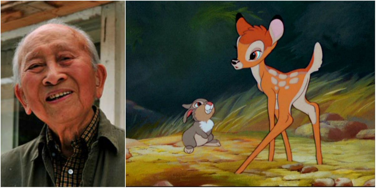 Tyrus Wong fue quien dibujó a Bambi