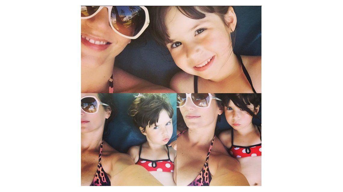 Griselda Siciliani y Margarita de vacaciones