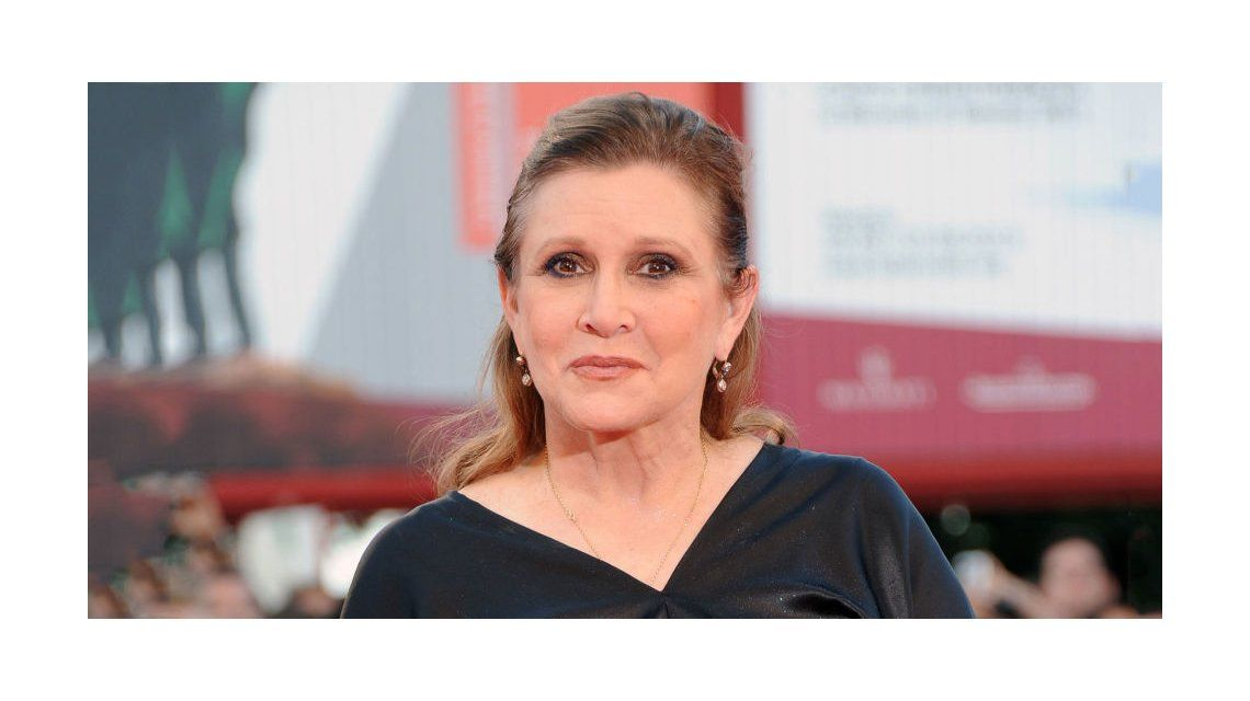 Carrie Fisher murió a los 60 años
