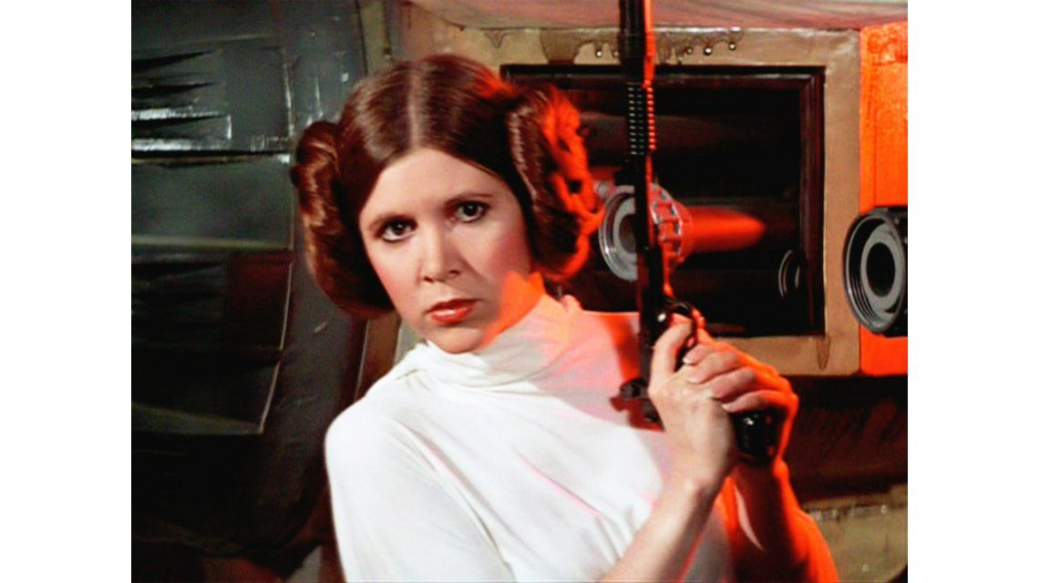 Carrie Fisher tenía 60 años
