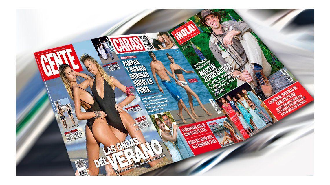 Mir las tapas de la revistas de esta semana tapas de for Revistas de espectaculos de esta semana