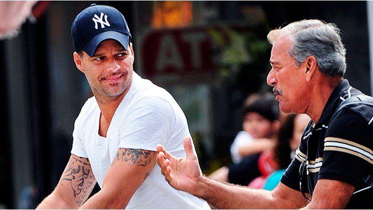 El mal momento de Ricky Martin