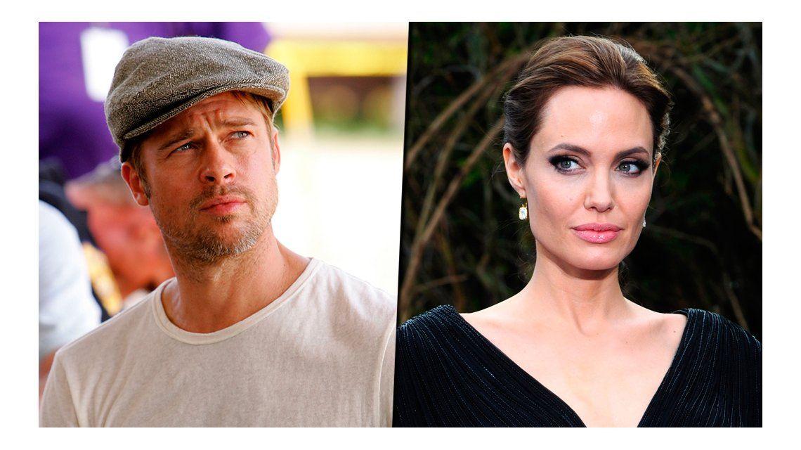 Fuerte acusación de Brad Pitt a Angelina Jolie