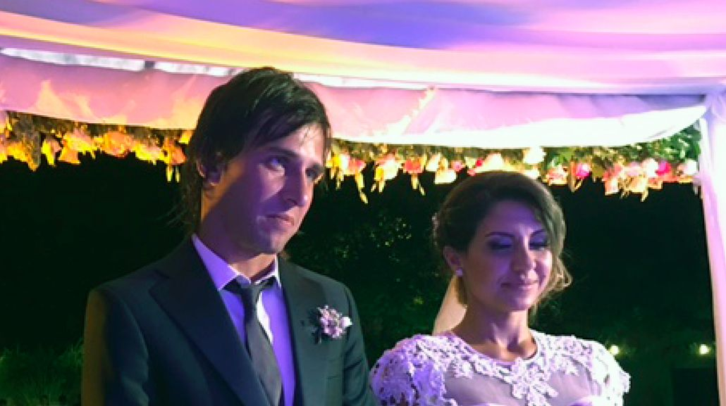 Se casaron en Pilar
