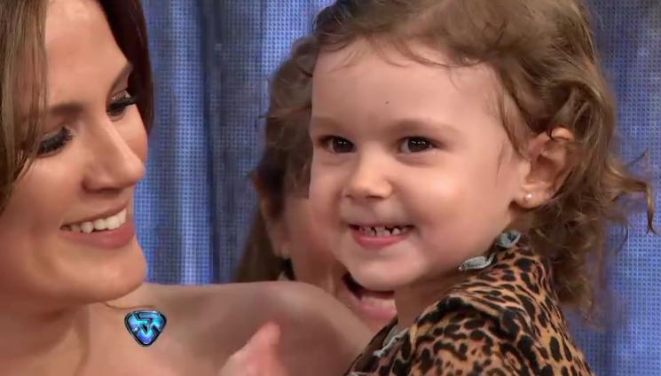 El show aparte de Tinelli con Olivia Alfonso: ¿por qué ella no quiere saludarlo?