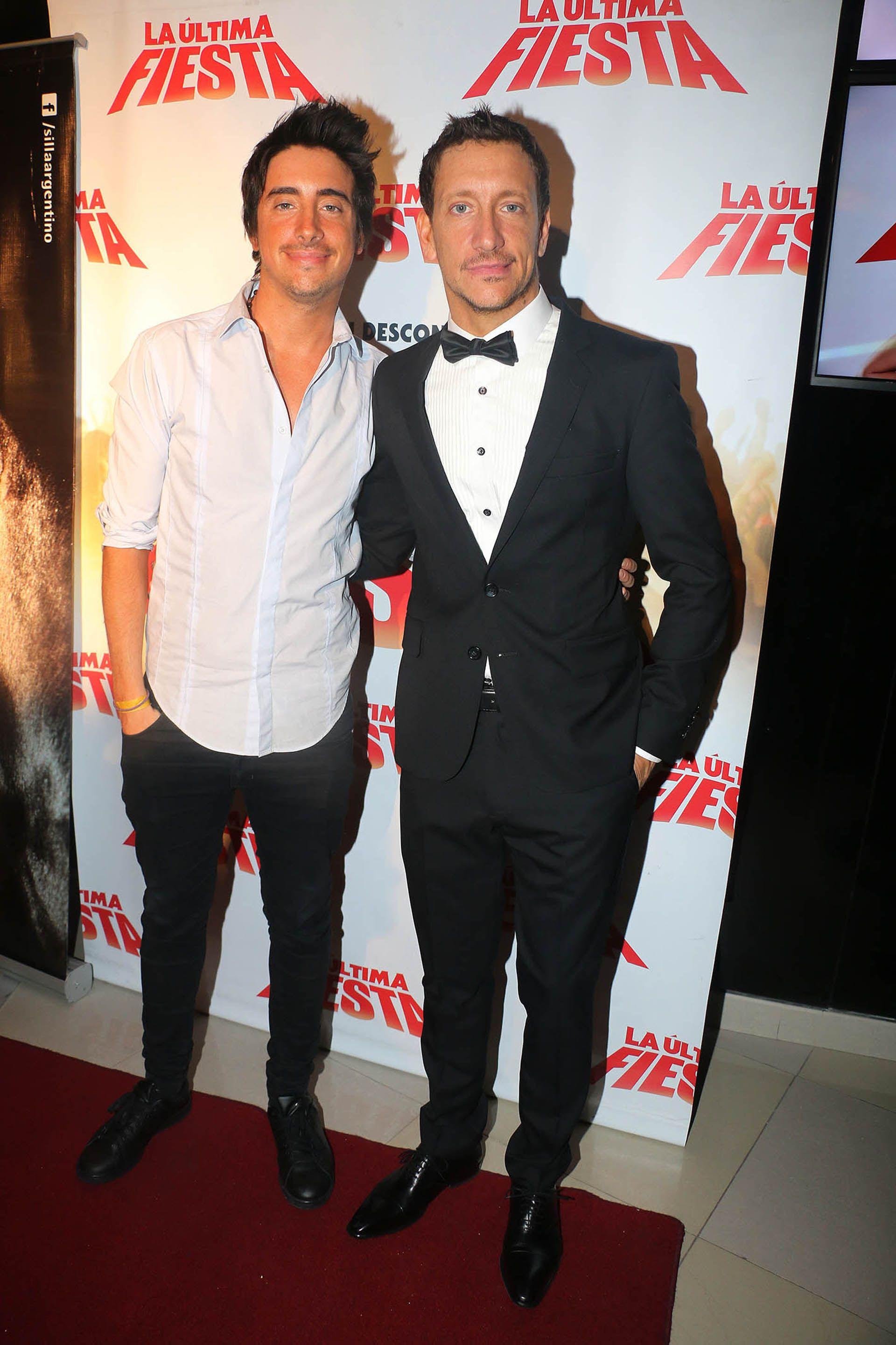 Santiago y Nico Vázquez