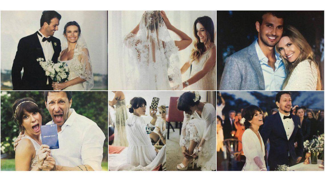 Los casamientos de Accardi y Zámolo: mirá el backstage de las novias