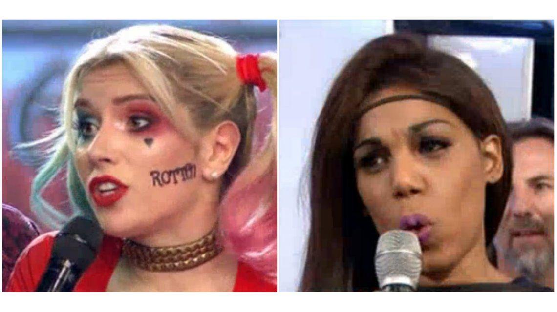 Mimi y Laurita Fernández se cruzaron en ShowMatch
