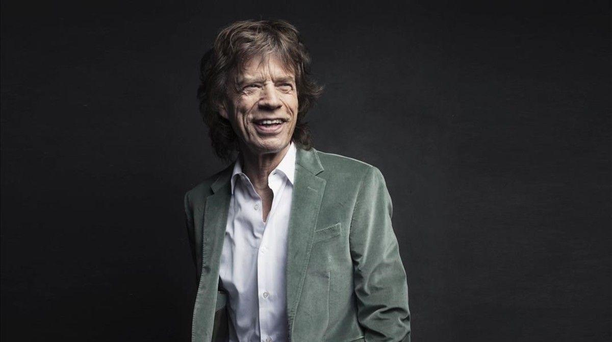 Mick Jagger fue padre por octava vez