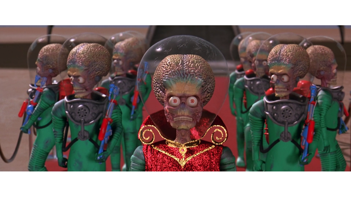 20 años de Mars Attacks!