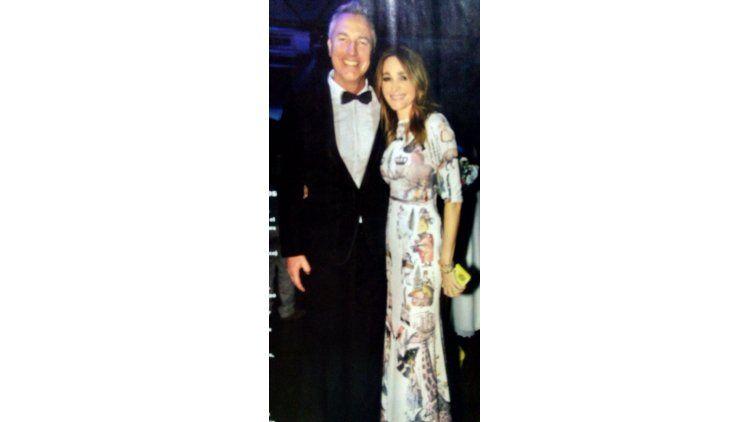 Marley y Vero Lozano en la gala de Gente