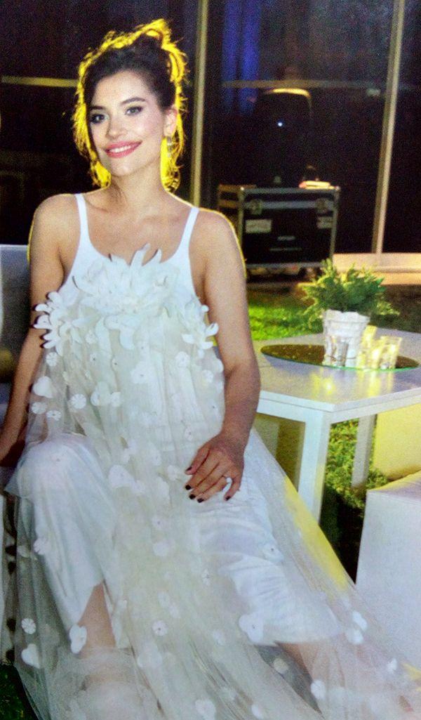 Eva de Dominici en la gala de Gente