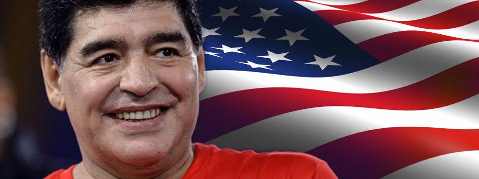 Diego Maradona puede volver a Estados Unidos