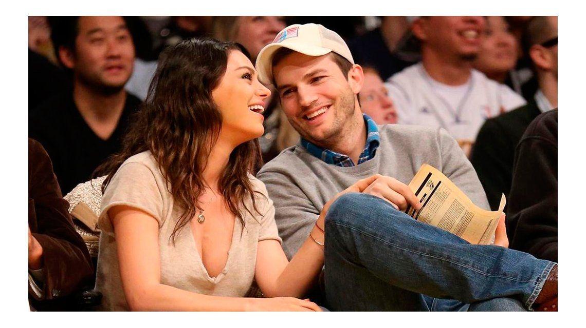 Ashton Kutcher y Mila Kunis fueron padres nuevamente