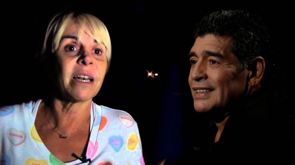 Claudia Villafañe vs Diego Maradona.